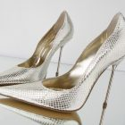 Golden Shoe: The New Fashion Bling
