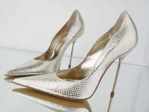 silver sandls online