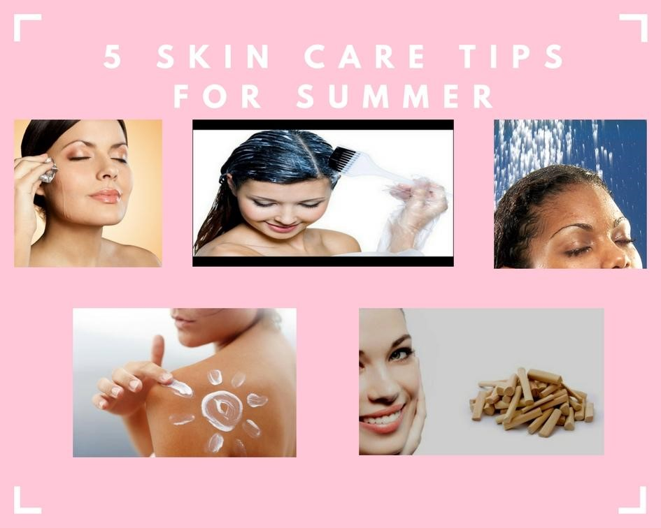 Common skin problems in summer