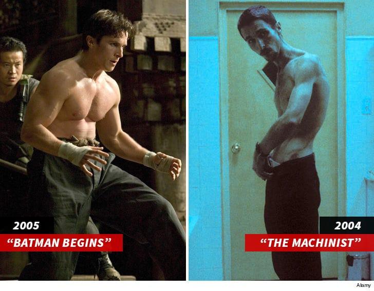 Christian Bale (As Batman in Batman Begins)