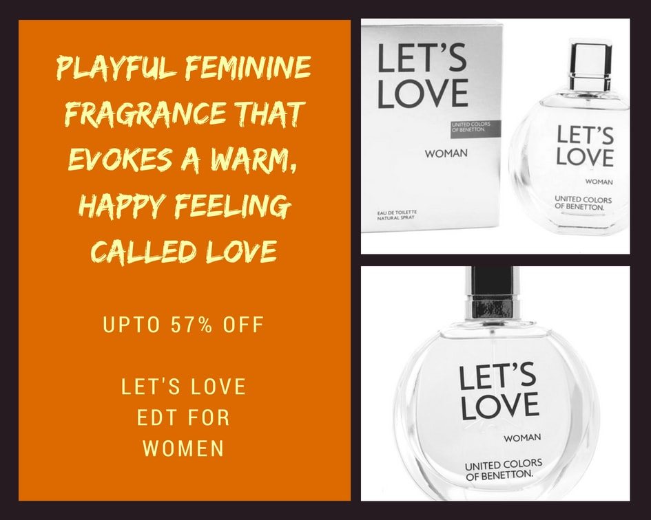 United Colors of Benetton: Let's Love EDT