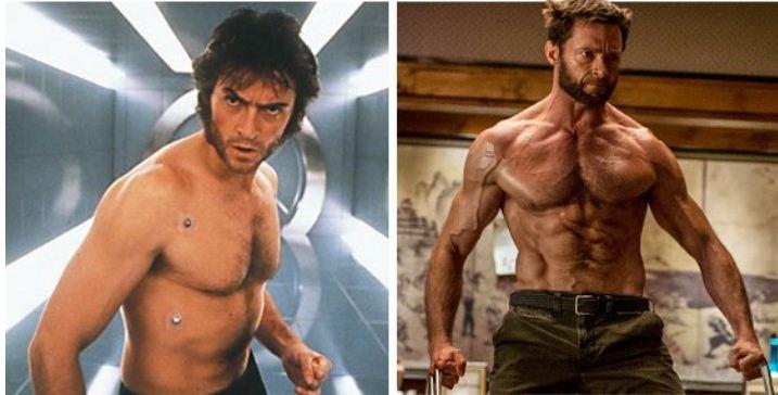 Hugh Jackman (As Wolverine in X-Men Movies)